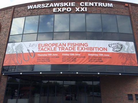 Plus Fishing at EFTTEX 2015 in Warsaw, Poland