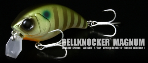 BELLKNOCKER MAGNUM - PLUS FISHING MEMBER 2014