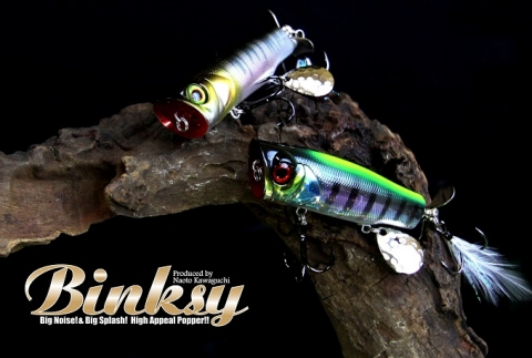 Binksy - the new popper by Jackall