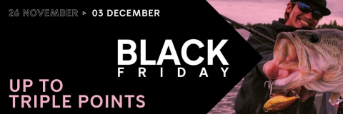 BLACK FRIDAY 2018 - up to triple points!