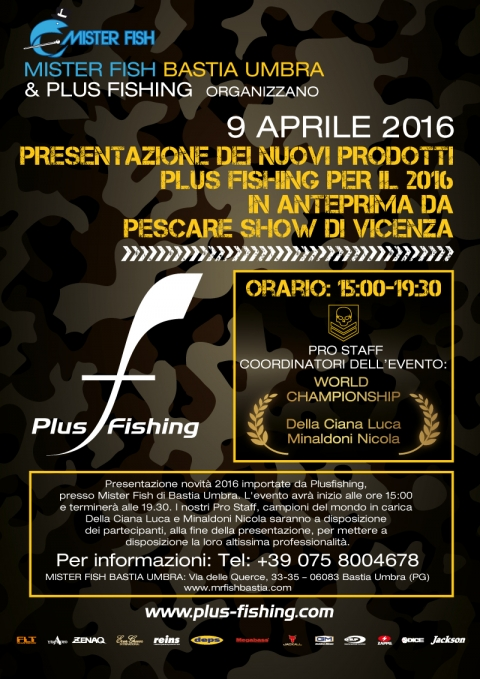 Event Plus Fishing a Bastia Umbra presso Mister Fish