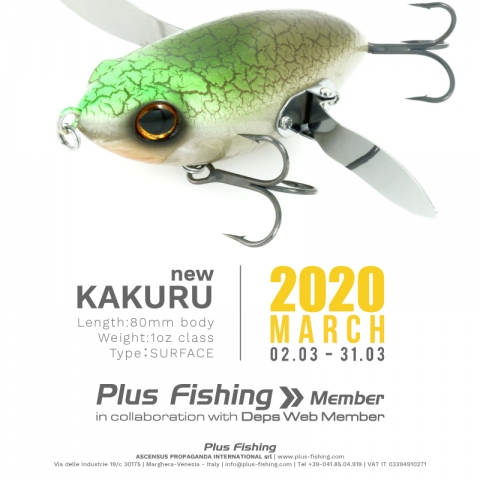 Plus Fishing Membership 2020 - New KAKURU